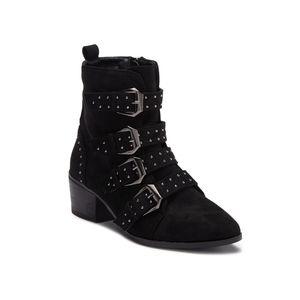 Catherine Malandrino Patsy Buckle Boots
